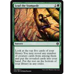 Lead the Stampede - Foil