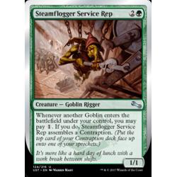 Steamflogger Service Rep