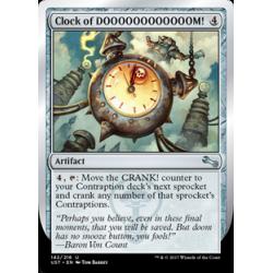 Clock of DOOOOOOOOOOOOM!