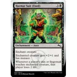 Hazmat Suit (Used) - Foil