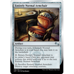 Entirely Normal Armchair - Foil
