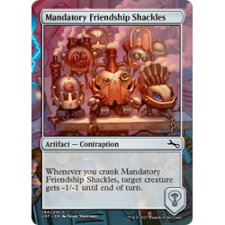 Mandatory Friendship Shackles - Foil