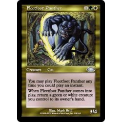 Leichtfüßiger Panther