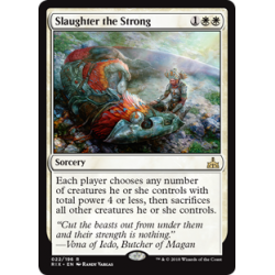 Slaughter the Strong