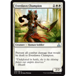 Championne de l'aube pérenne - Foil