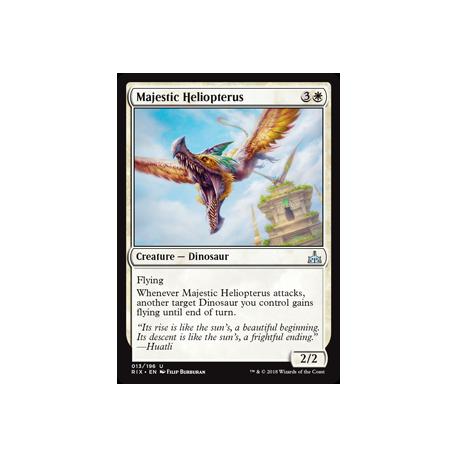 Majestic Heliopterus - Foil