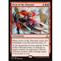 Forme du dinosaure - Foil