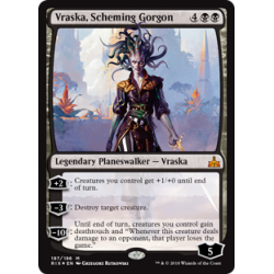 Vraska, Scheming Gorgon - Foil