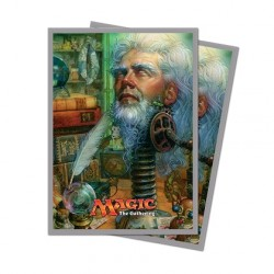 Ultra Pro - Unstable Standard Deck Protectors (120ct Sleeves) - Urza, Academy Headmaster