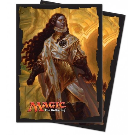 Ultra Pro - Ixalan Standard Deck Protectors 80ct Sleeves - Elenda, the Dusk Rose