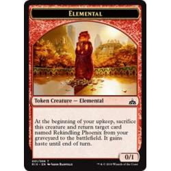 Elemental Token 0/1