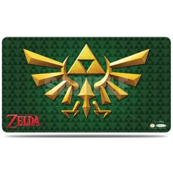 Ultra Pro - The Legend of Zelda - Green Crest Playmat with Playmat Tube