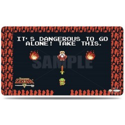 Ultra Pro - The Legend of Zelda - Dangerous Playmat with Playmat Tube