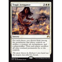 Arrogance tragique