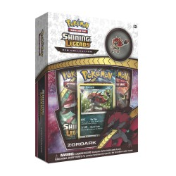 Pokemon - Shining Legends - Zoroark Pin Collection SLIGHTLY DAMAGED