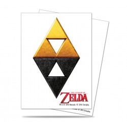 Ultra Pro - Zelda 65ct Sleeves - Tri-Force