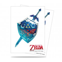 Ultra Pro - Zelda 65ct Sleeves - Sword and Shield