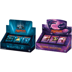 Iconic Masters + Masters 25 Booster Display