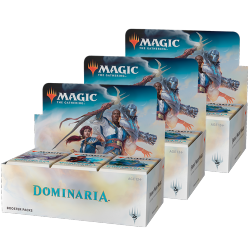 Dominaria Booster Display Lot (3x Booster Display)