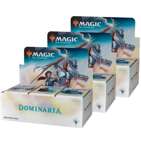 Dominaria Booster Box Lot (3x Booster Box)