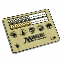 Ultra Pro - Card Size Abacus Life Counter - White