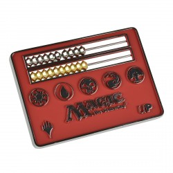Ultra Pro - Card Size Abacus Life Counter - Red