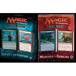 Duel Deck: Elves vs. Inventors + Merfolk vs. Goblins