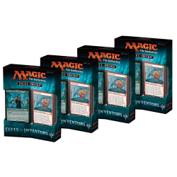 Duel Deck: Elves vs. Inventors Set (4x Decks)