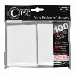 Ultra Pro - Pro-Matte Eclipse Standard 100ct Sleeves - Arctic White
