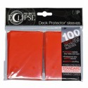 Ultra Pro - Pro-Matte Eclipse Standard 100ct Sleeves - Apple Red