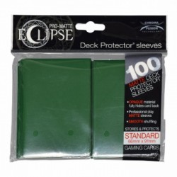 Ultra Pro - Pro-Matte Eclipse Standard 100ct Sleeves - Forest Green