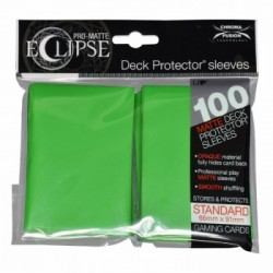 Ultra Pro - Pro-Matte Eclipse Standard 100ct Sleeves - Lime Green