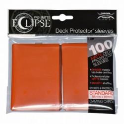 Ultra Pro - Pro-Matte Eclipse Standard 100ct Sleeves - Pumpkin Orange