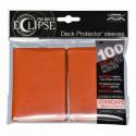Ultra Pro - Pro-Matte Eclipse Standard 100ct Sleeves - Pumpkin Orange