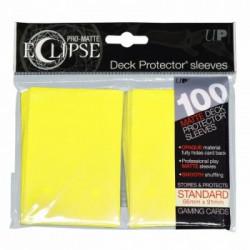 Ultra Pro - Pro-Matte Eclipse Standard 100ct Sleeves - Lemon Yellow