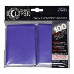 Ultra Pro - Pro-Matte Eclipse Standard 100ct Sleeves - Royal Purple