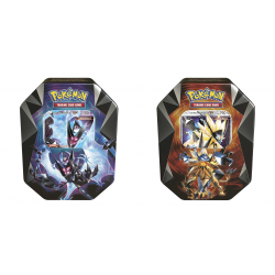 Pokemon - Spring Tin 2018: Necrozma-GX Prism - Set (Dawn Wings + Dusk Mane)