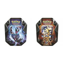 Pokemon - Spring Tin 2018: Necrozma-GX Prism - Set (Dawn Wings + Dusk Mane)