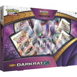 Pokemon - Shiny Darkrai-GX Box - SLIGHTLY DAMAGED
