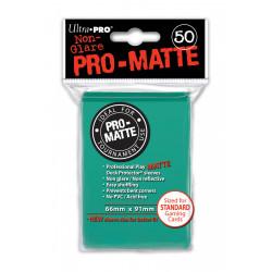 Ultra Pro - Pro-Matte Standard Deck Protectors 50ct Sleeves - Aqua
