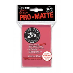 Ultra Pro - Pro-Matte Standard 50 Sleeves - Fuchsia