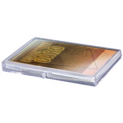 Ultra Pro - 5x Hinged Clear Box - 15 Cards
