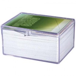Ultra Pro - 3x Hinged Clear Box - 100 Cards