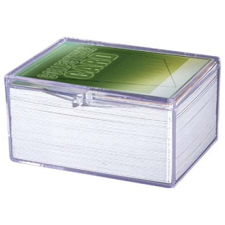 Ultra Pro - 5x Hinged Clear Box - 100 Cards
