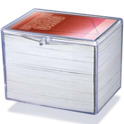 Ultra Pro - 5x Hinged Clear Box - 150 Cards