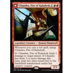 Chandra, feu de Kaladesh / Chandra, flamme rugissante