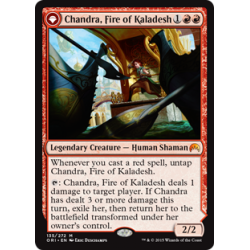 Chandra, Fire of Kaladesh / Chandra, Roaring Flame