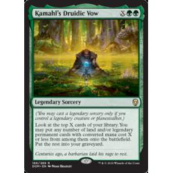 Kamahl's Druidic Vow