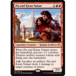 Pia and Kiran Nalaar