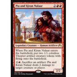 Pia e Kiran Nalaar